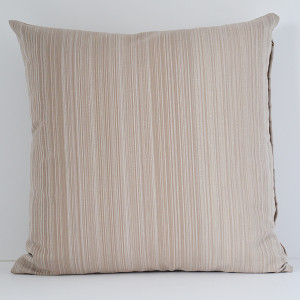 cushion beige with stripes light brown