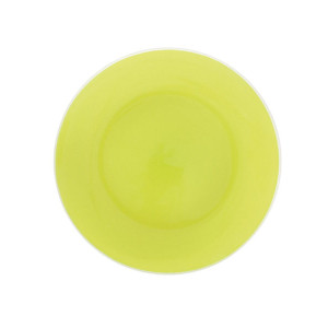 verde dining plate green