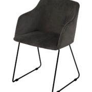 Casablanca chair dark grey