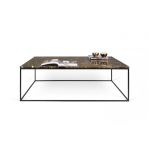 Gleam table brown marble