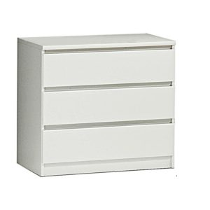 Naia chest white 3 drawers