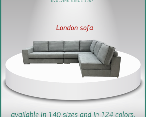 London sofa CM