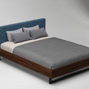 Bed2FabricBlueWood8200
