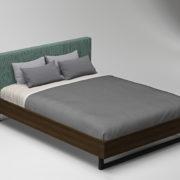 Bed2FabricGreenWood8700