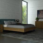 Bed2RoomSceneWood1Green