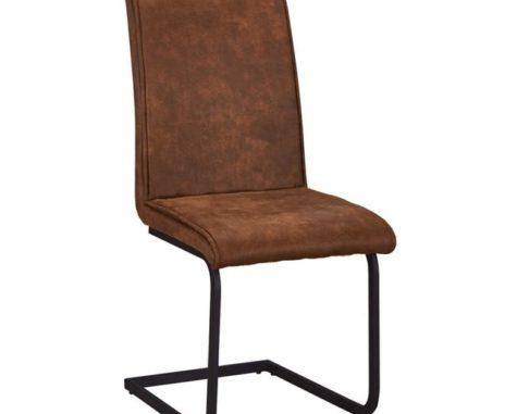 Tory chair brown